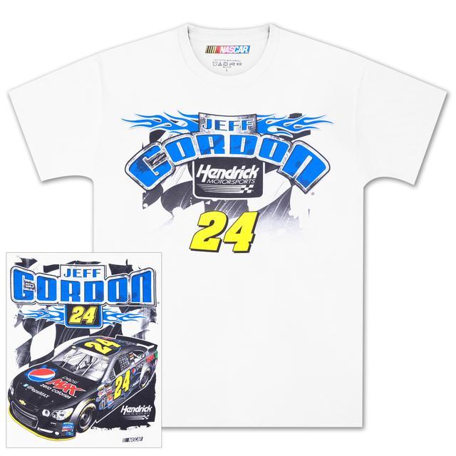 Hendrick Motorsports Jeff Gordon #24 Loud and Proud T-shirt