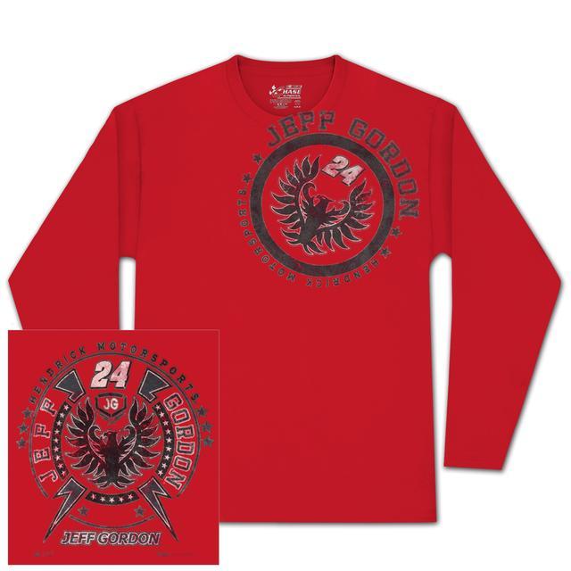 Hendrick Motorsports Jeff Gordon #24 Metal Sheet Longsleeved T-shirt
