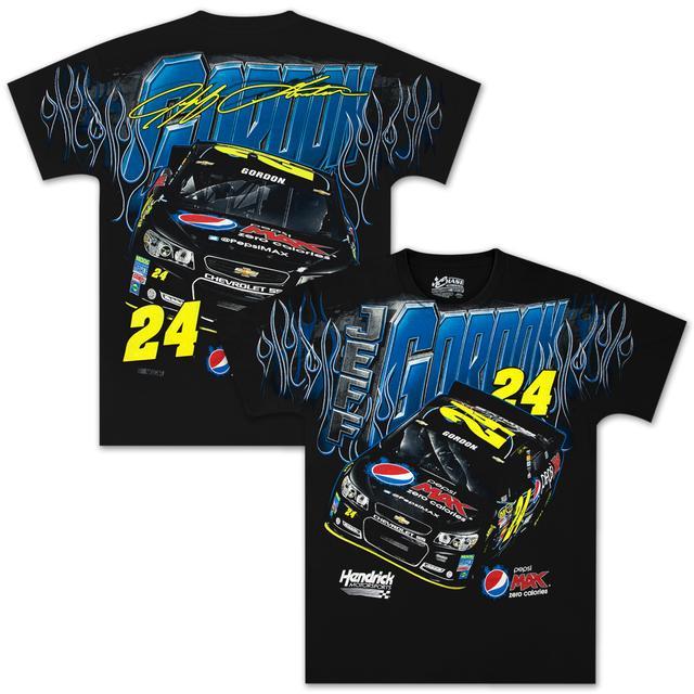 Hendrick Motorsports Jeff Gordon #24 Pepsi Max Total Print T-shirt