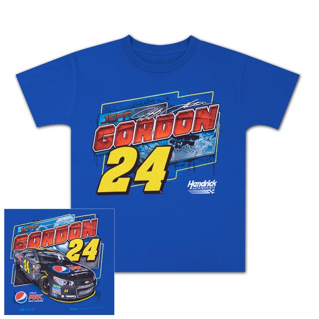 Hendrick Motorsports Jeff Gordon - 2014 Chase Authentics  Pepsi Max Youth Showtime Tee