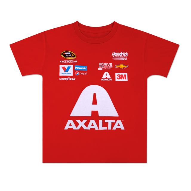 Hendrick Motorsports Jeff Gordon 2015 Chase Authentics  Axalta Youth Uniform Tee