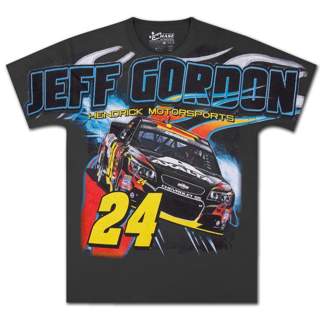Hendrick Motorsports Jeff Gordon - 2014 Chase Authentics  Axalta Adult Momentum Total Print Tee