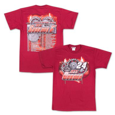 Hendrick Motorsports Jeff Gordon - Chase Authentics  Adult 2015 Schedule Tee