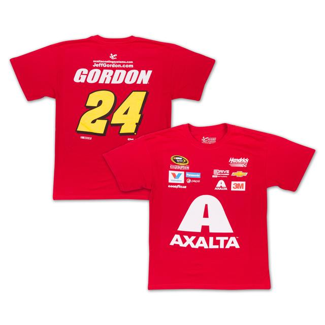 Hendrick Motorsports Jeff Gordon - 2015 Chase Authentics  Axalta Adult Uniform Tee