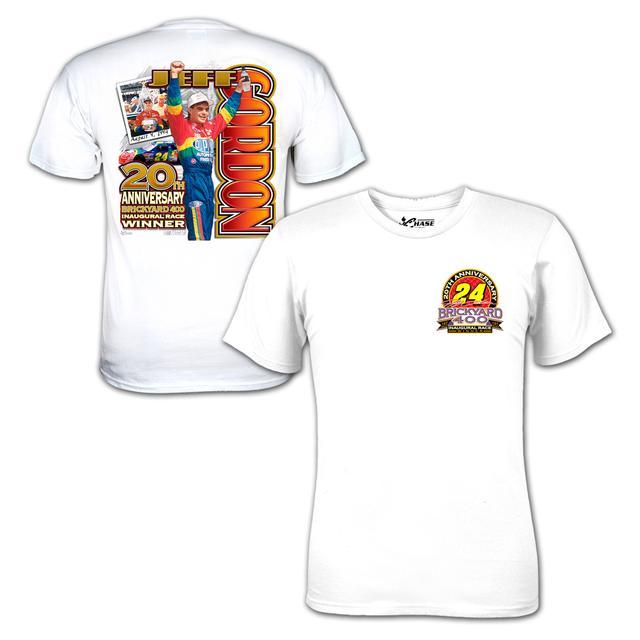 Hendrick Motorsports Jeff Gordon -Brickyard 20th Anniversary Tee