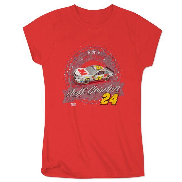 Hendrick Motorsports Jeff Gordon 2015 Ladies Sheet Metal T-Shirt