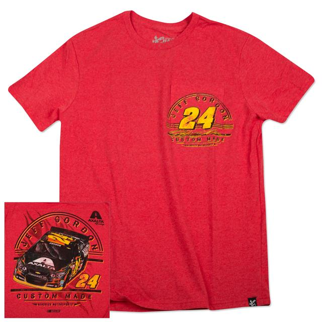Hendrick Motorsports Jeff Gordon 2015 Chase Authentics Adult Vintage Pocket Tee
