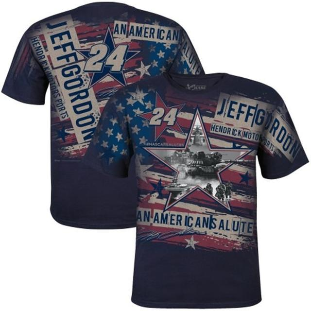 Hendrick Motorsports Jeff Gordon American Salute Total Print T-Shirt