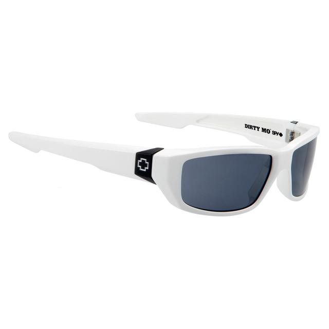 Hendrick Motorsports SPY Optic 'Dirty Mo' White w/ Signature -Grey Polarized Lens- Sunglasses