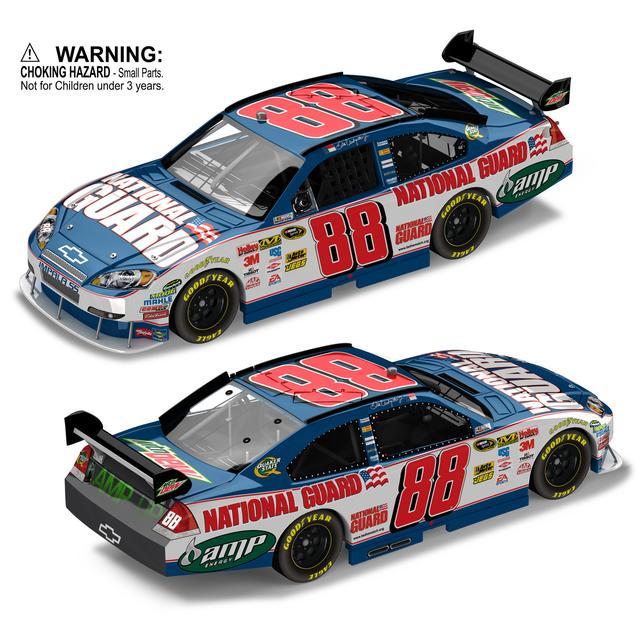 Hendrick Motorsports Dale Jr. #88 2010 Nat'l Guard Platinum Series 1:64 diecast