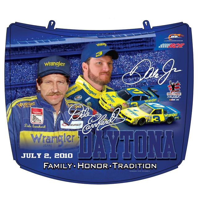 Hendrick Motorsports Dale Jr./Sr. #3 Collectible Hood