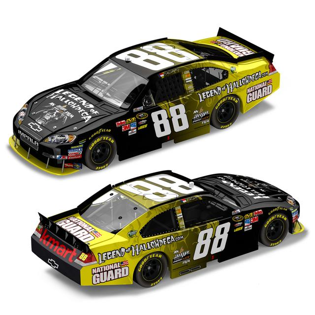 Hendrick Motorsports Dale Jr. #88 Legend of Hallowdega 1:24 Die Cast