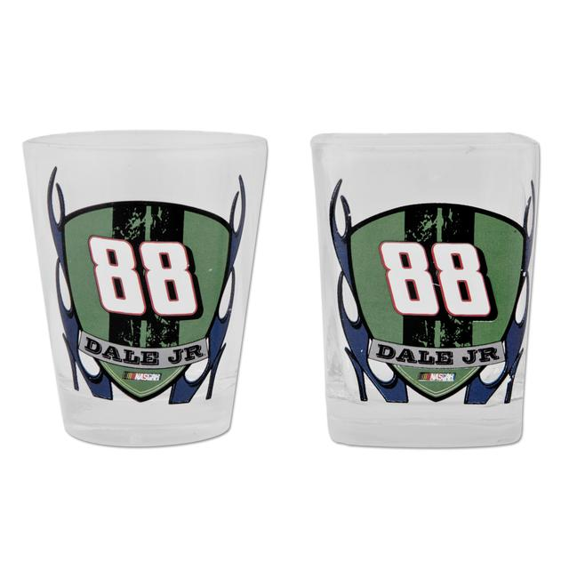 Hendrick Motorsports Dale Jr #88 Shot Glasses (set of 2)