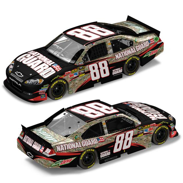 Hendrick Motorsports Dale Jr #88 National Guard Heritage 1:24 Scale Diecast