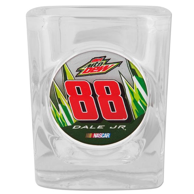 Hendrick Motorsports Dale Jr #88 Diet Mt Dew Shot Glass