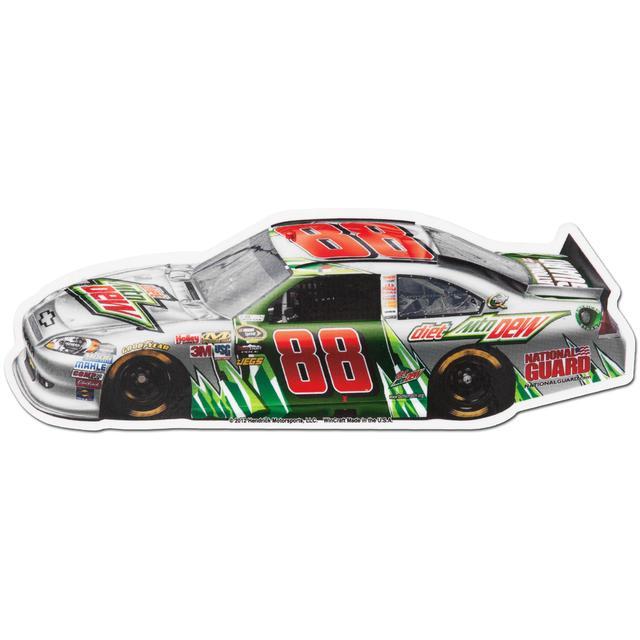 "Hendrick Motorsports Dale Jr #88 Diet Mt Dew 2"" x 6"" Magnet"