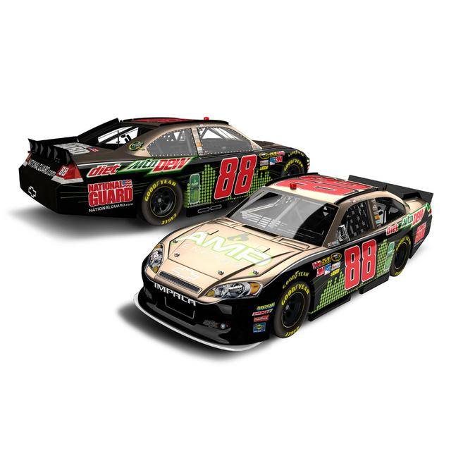 Hendrick Motorsports Dale Jr #88 AMP Rampage 1:24 Scale Diecast