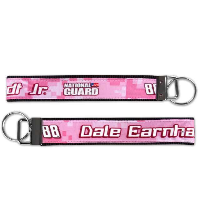 Hendrick Motorsports Dale Jr #88 Pink Wrist Key Loop