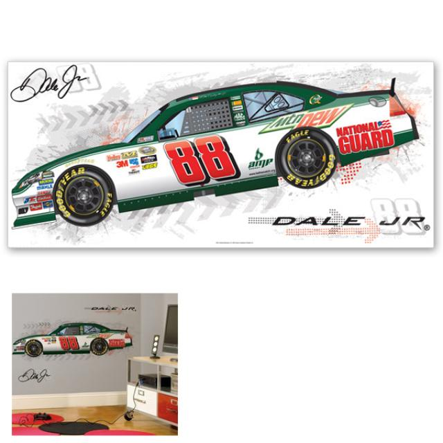 "Hendrick Motorsports Dale Jr 40x18"" Giant Wall Decal"