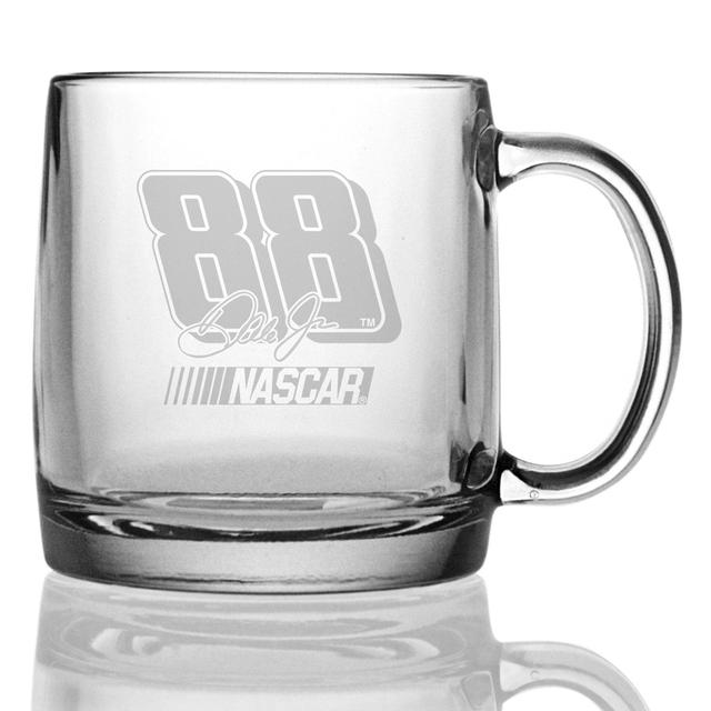 Hendrick Motorsports Dale Jr 13oz Etched Coffee Mug