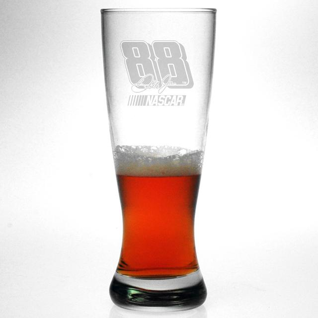 Hendrick Motorsports Dale Jr 20oz Etched Grand Pilsner Glass