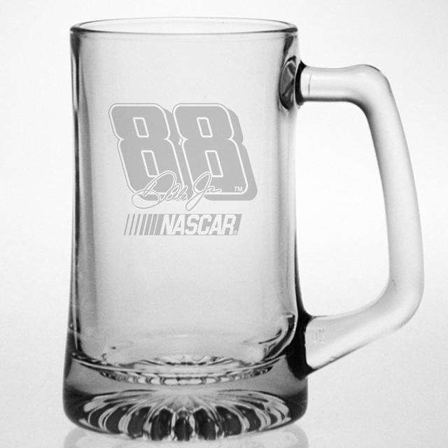 Hendrick Motorsports Dale Jr 15oz Etched Tankard Glass