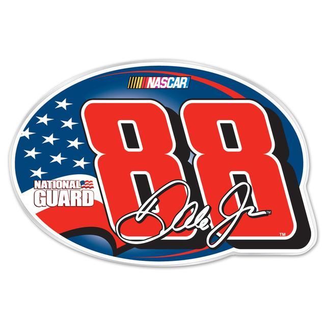 Hendrick Motorsports Dale Jr #88 Oval Car Grill Emblem