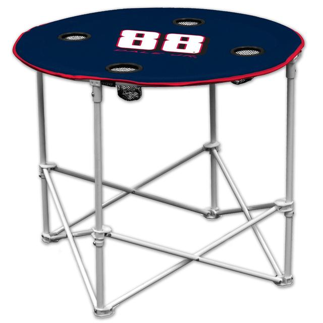 Hendrick Motorsports Dale Jr #88 Round Tailgate Table