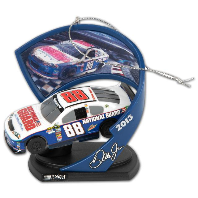 Hendrick Motorsports Dale Jr #88 National Guard Car Ornament