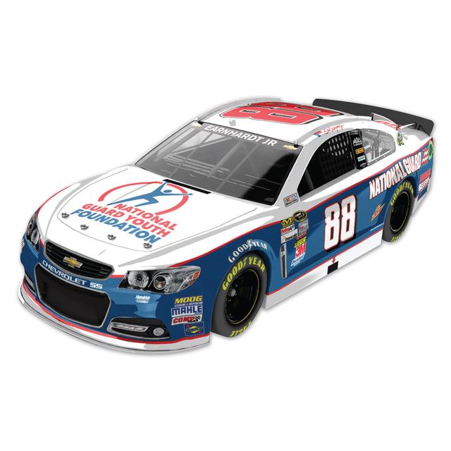 Hendrick Motorsports Dale Jr #88 2013 National Guard Youth Foundation 1:24 Scale Diecast HOTO