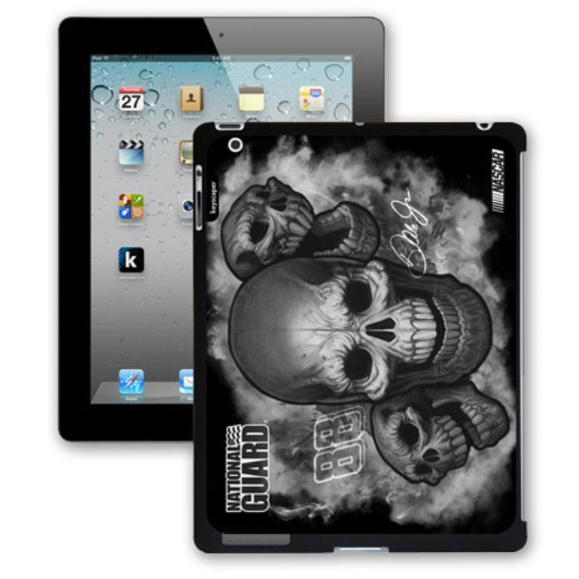 Hendrick Motorsports Dale Jr #88 National Guard Skulls iPad 2 Case