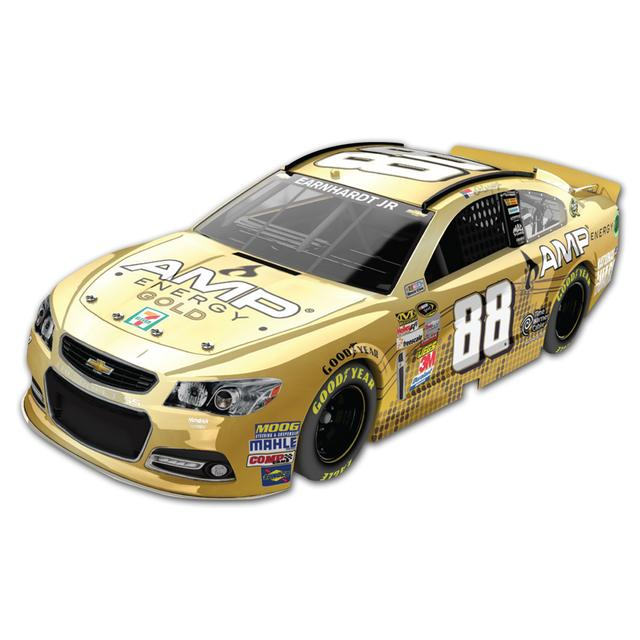 Hendrick Motorsports Dale Jr. #88 2013 AMP ENERGY Gold 1:24 Scale Diecast HOTO