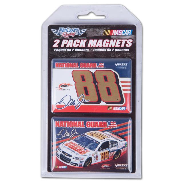 Hendrick Motorsports Dale Jr. 2014 2x3 magnet 2 pack
