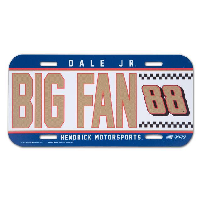 Hendrick Motorsports Dale Jr. 2014 License Plate