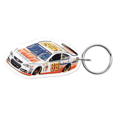 Hendrick Motorsports Dale Jr. 2014 Premium acrylic mirrored key ring
