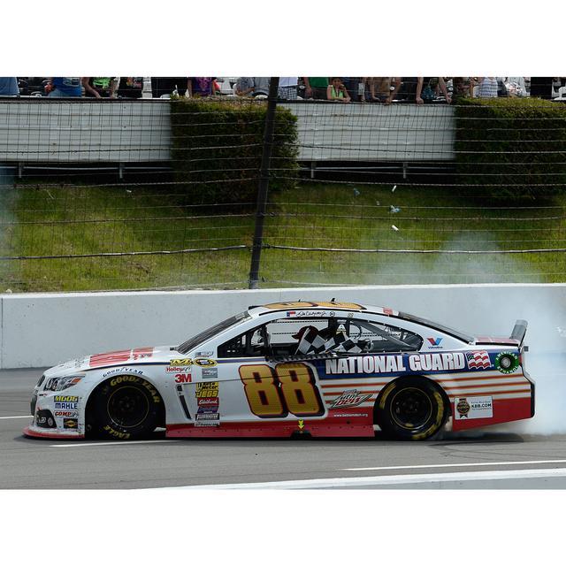 Hendrick Motorsports Dale Earnhardt, Jr. #88 2014 Pocono 400 Race Winner 1:24 Scale Diecast