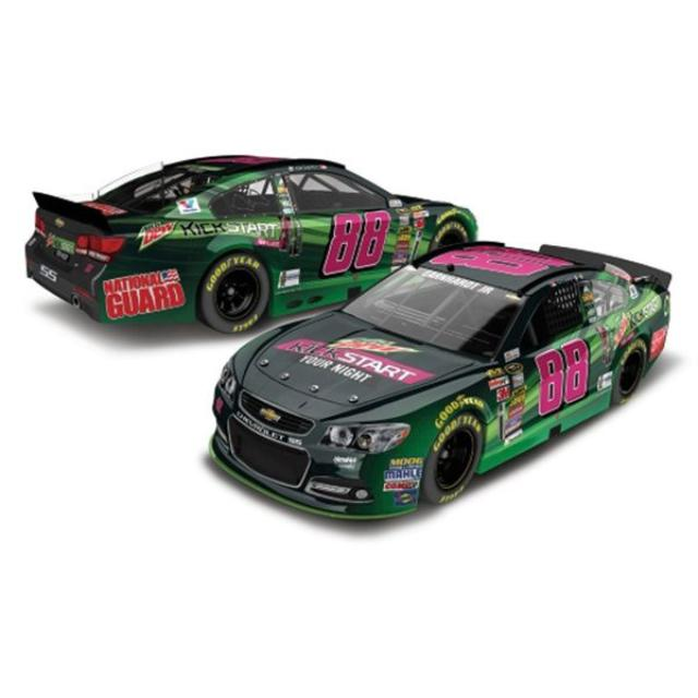 Hendrick Motorsports Dale Jr. #88 Mountain Dew Kickstart 2014 Nascar Sprint Cup Series Diecast 1:24