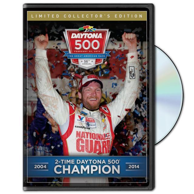 Hendrick Motorsports Dale Jr. - 2-TIME DAYTONA 500 CHAMPION 2004 & 2014 DVD