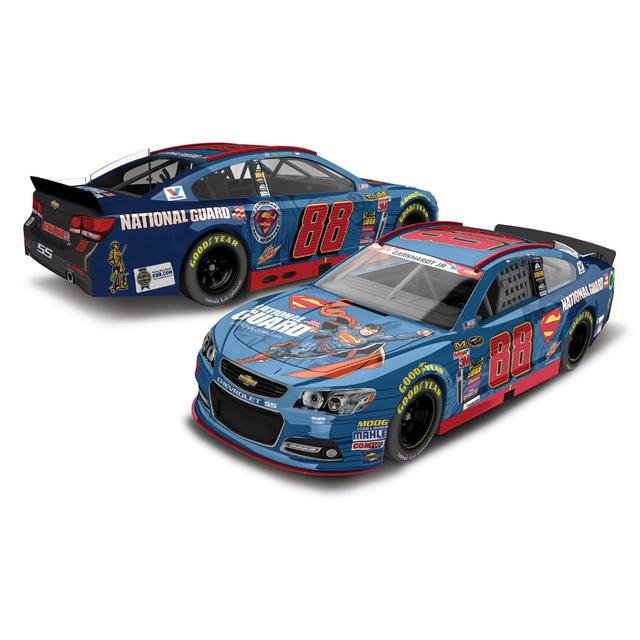 Hendrick Motorsports Dale Jr. - #88 National Guard Superman 2014 Nascar Sprint Cup Series Diecast 1:64 Scale HT