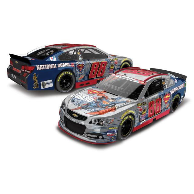 Hendrick Motorsports Dale Jr. - #88 National Guard Superman 2014 Nascar Sprint Cup Series Diecast 1:24 Scale HT Raw Paint