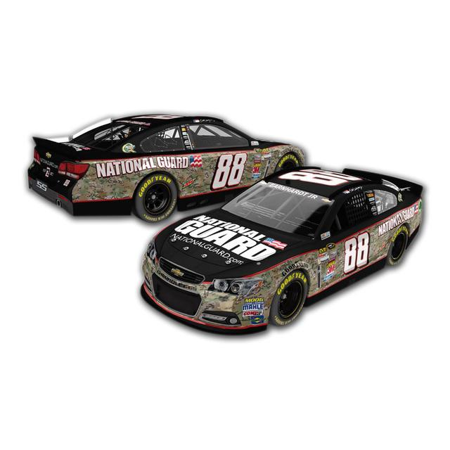 Hendrick Motorsports Dale Jr.  - #88 2014 National Guard An American Salute Diecast 1:24 Scale Color Chrome