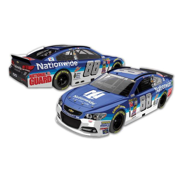 Hendrick Motorsports Dale Jr. - Nationwide Nascar Sprint Cup Series Diecast 1:24 Scale Color Chrome