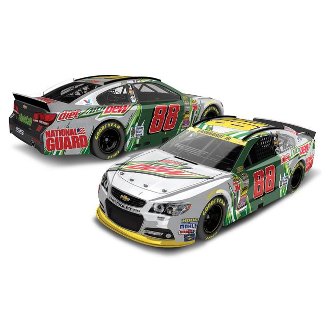 Hendrick Motorsports Dale Jr. - #88 Diet Dew Dale Call 2014 Nascar Sprint Cup Series Diecast 1:24 Scale Color Chrome