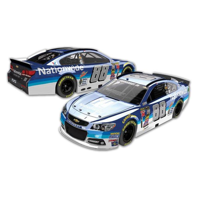 Hendrick Motorsports Dale Jr. #88 1:24 Scale 2015 Nationwide Chrome Diecast