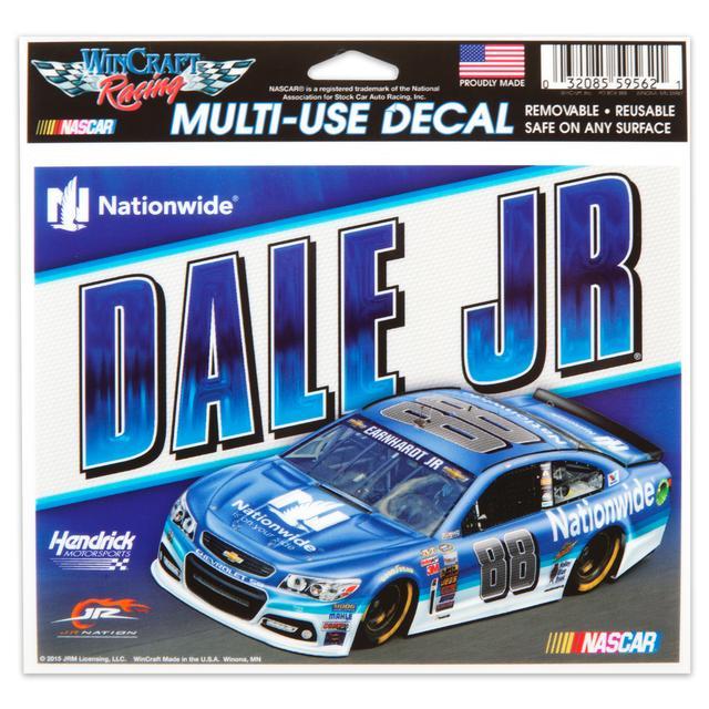 Hendrick Motorsports Dale Jr. 5X6 Multi Use Decal