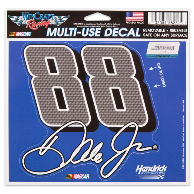 Hendrick Motorsports Dale Jr. 5X6 Decals Multi Number