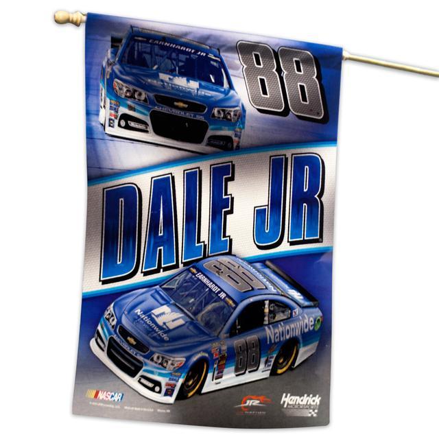 """Hendrick Motorsports Dale Jr. 27"""" x 37"""" Vertical Flag"""