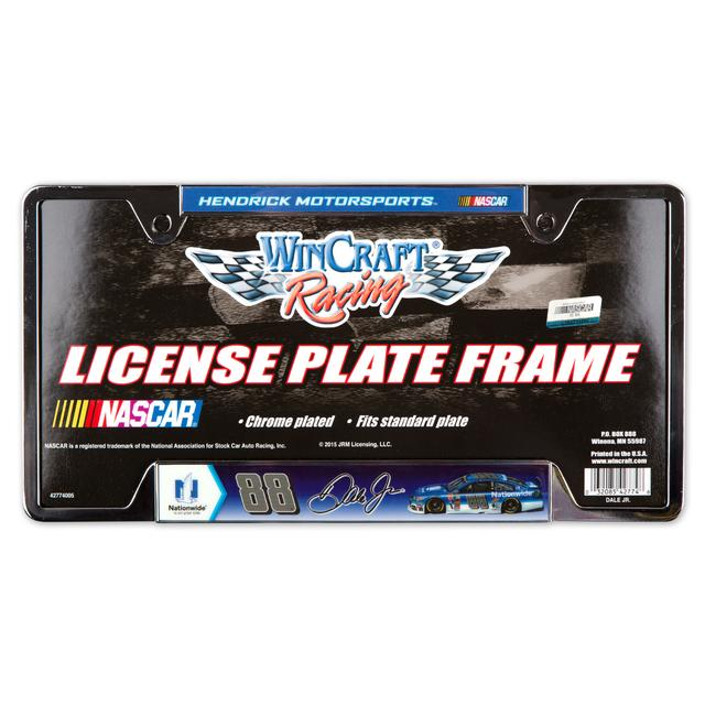 Hendrick Motorsports Dale Jr. Metal License Frame