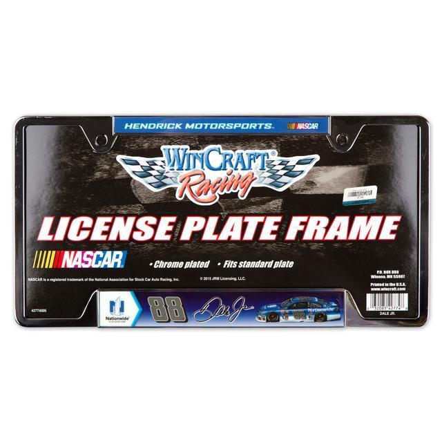 Hendrick Motorsports Dale Jr. Metal License Frame