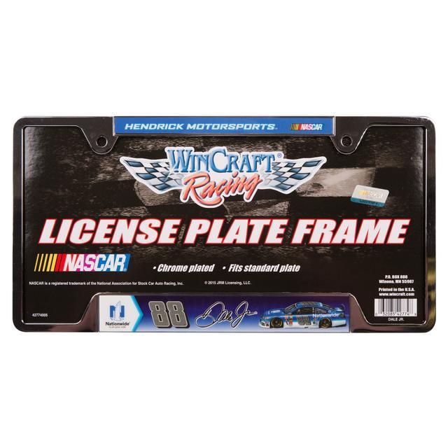 Hendrick Motorsports Dale Jr. Metal License Plate